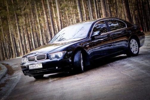 BMW 7-Series 2001 - отзыв владельца