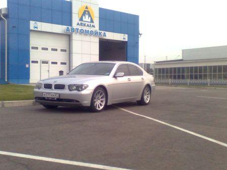 BMW 7-Series  - отзыв владельца