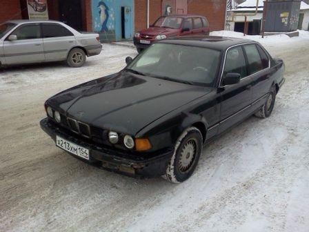 BMW 7-Series 1987 - отзыв владельца
