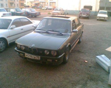 BMW M5, 1985