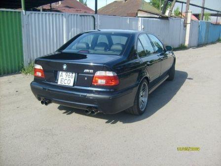 BMW M5 2001 - отзыв владельца
