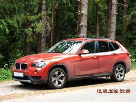 BMW X1 2013 - отзыв владельца