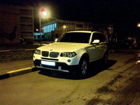 BMW X3 2009 - отзыв владельца