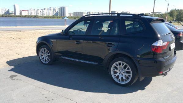 BMW X3 2008 - отзыв владельца