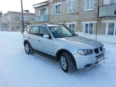 BMW X3 2006 - отзыв владельца