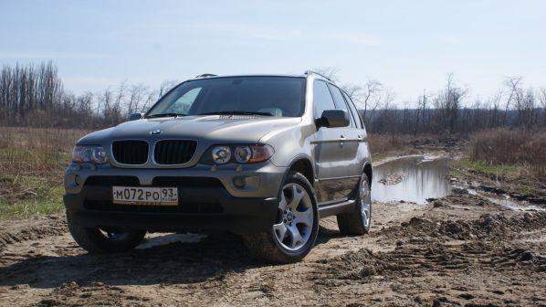 BMW X5 2004 - отзыв владельца