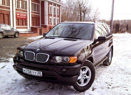 Отзыв BMW X5 (БМВ Икс5) 2002 г