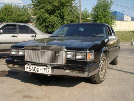Cadillac DeVille 1985 - отзыв владельца