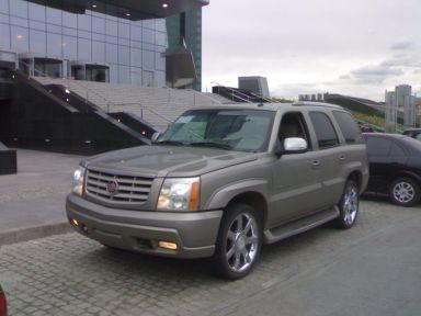 Cadillac Escalade 2004 отзыв автора | Дата публикации 15.08.2009.