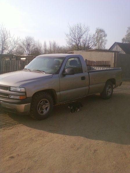 Chevrolet Silverado 1999 - отзыв владельца