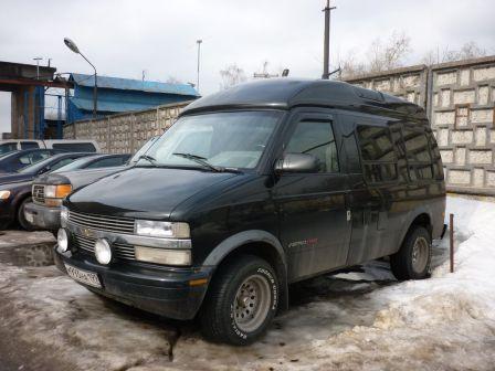 Chevrolet Astro 1995 - отзыв владельца