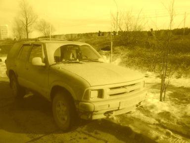 Chevrolet Blazer 1996 отзыв автора | Дата публикации 18.08.2011.