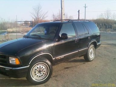 Chevrolet Blazer 1995 отзыв автора | Дата публикации 03.11.2011.