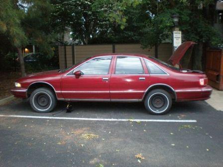 Chevrolet Caprice 1993 - отзыв владельца