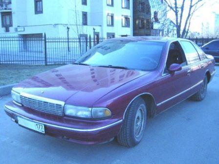 Chevrolet Caprice 1996 - отзыв владельца