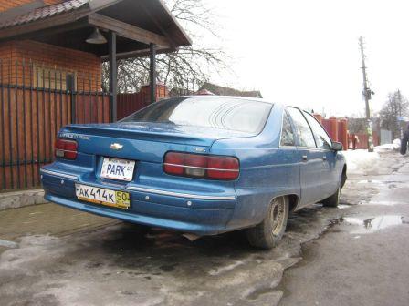 Chevrolet Caprice 1991 - отзыв владельца