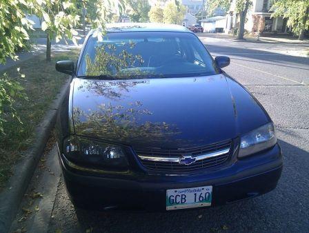 Chevrolet Impala 2002 - отзыв владельца