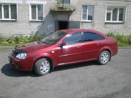 Chevrolet Lacetti 2007 - отзыв владельца