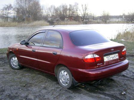 Chevrolet Lanos 2003 - отзыв владельца