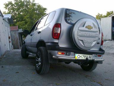 Chevrolet Niva 2007 отзыв автора | Дата публикации 24.09.2012.