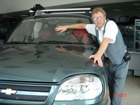 Chevrolet Niva 2006 - отзыв владельца