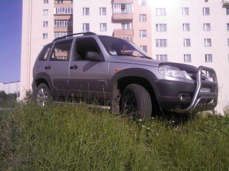 Chevrolet Niva 2009 - отзыв владельца