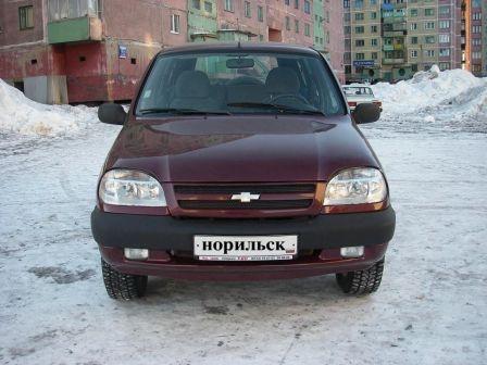Chevrolet Niva 2004 - отзыв владельца