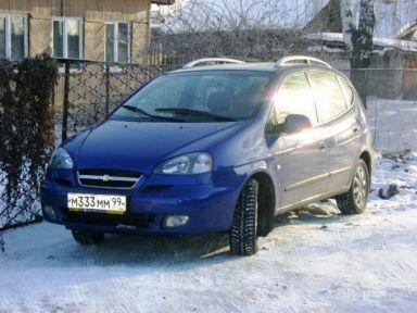 Chevrolet Rezzo 2007 отзыв автора | Дата публикации 24.09.2009.