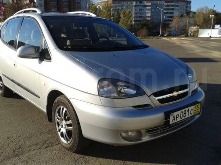 Chevrolet Rezzo 2008 - отзыв владельца