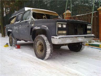 Chevrolet Suburban, 1989
