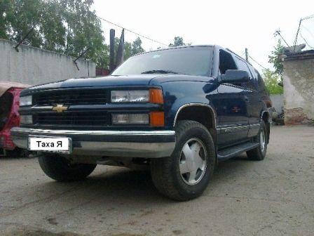 Chevrolet Tahoe 1997 - отзыв владельца