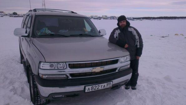 Chevrolet Tahoe 2004 - отзыв владельца