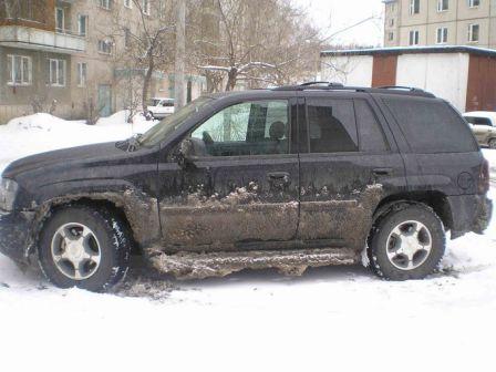 Chevrolet TrailBlazer 2007 - отзыв владельца