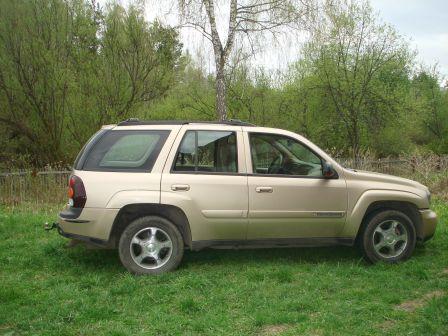 Chevrolet TrailBlazer 2004 - отзыв владельца