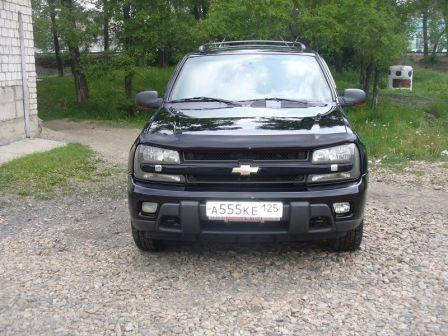 Chevrolet TrailBlazer 2002 - отзыв владельца