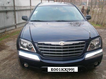 Chrysler Pacifica 2005 - отзыв владельца