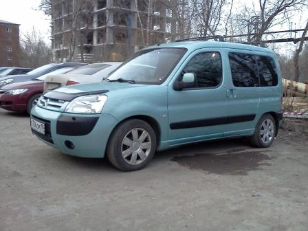Citroen Berlingo 2007 - отзыв владельца