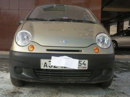 Daewoo Matiz  - отзыв владельца