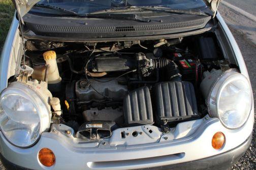 Daewoo Matiz 2002 - отзыв владельца