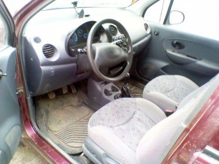 Daewoo Matiz 2007 - отзыв владельца