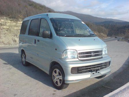 Daihatsu Atrai7 2004 - отзыв владельца