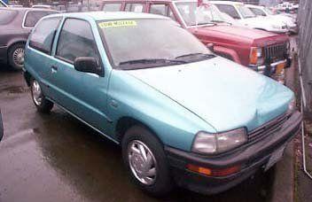 Daihatsu Charade, 1988