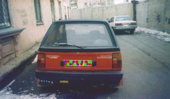 Daihatsu Charade De Tomaso 1984 - отзыв владельца