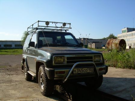 Daihatsu Feroza 1992 - отзыв владельца