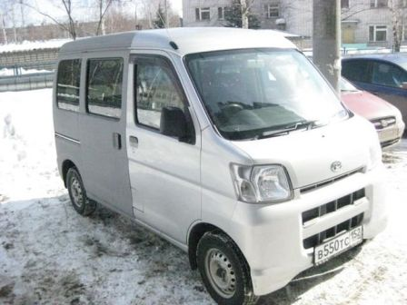 Daihatsu Hijet 2006 - отзыв владельца