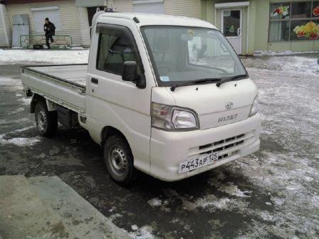 Daihatsu Hijet Truck 2008 - отзыв владельца