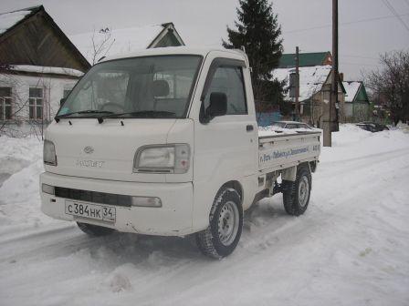 Daihatsu Hijet Truck 2004 - отзыв владельца