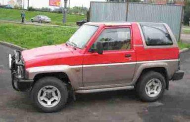 Daihatsu Rocky, 1990