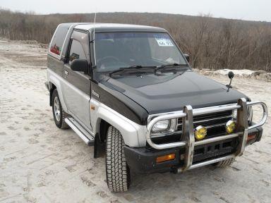 Daihatsu Rocky, 1991
