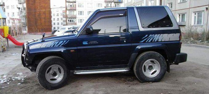 Daihatsu Rocky 1995 - отзыв владельца